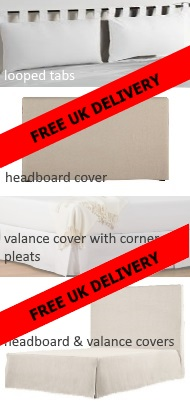 Calico Futon Covers from £25, Natural Cotton Futon Covers from £32, UK