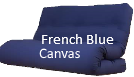 French Blue futon covers
