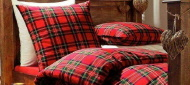 Royal Steweart Tartan Bed Linen